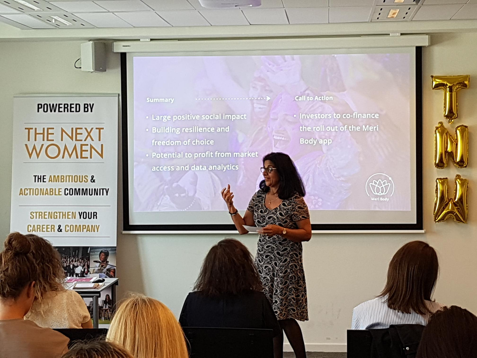 action open sollicitatie Quarterfinal TheNextWomen Pitch Competition at Nyenrode Amsterdam action open sollicitatie
