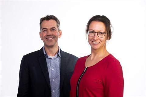 Andre Nijhof en Charlotte Extercatte
