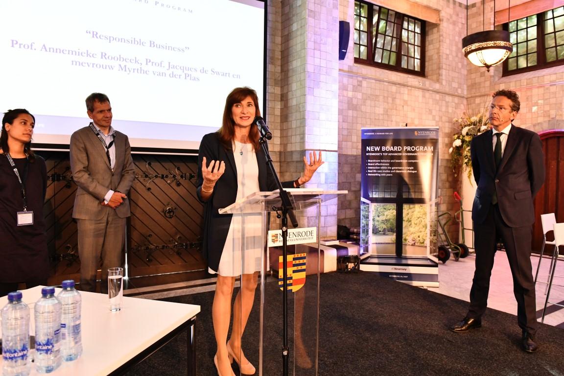 Annemieke Roobeek boekpresentatie