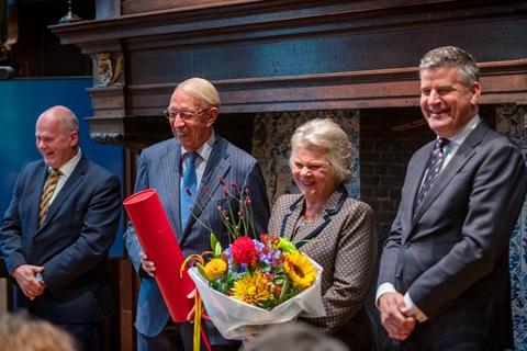 Lifetime achievement Award Henk de Heus