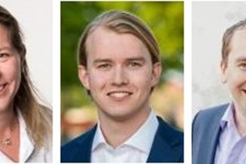 Simone van Golden, Pjotr Roelofsen en Pieter van Toor