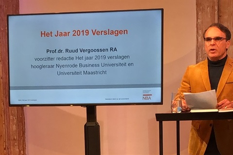 Ruud Vergoossen het jaar verslagen