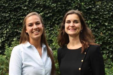 Eline Huiberts en Patricia de Quaasteniet-Meester