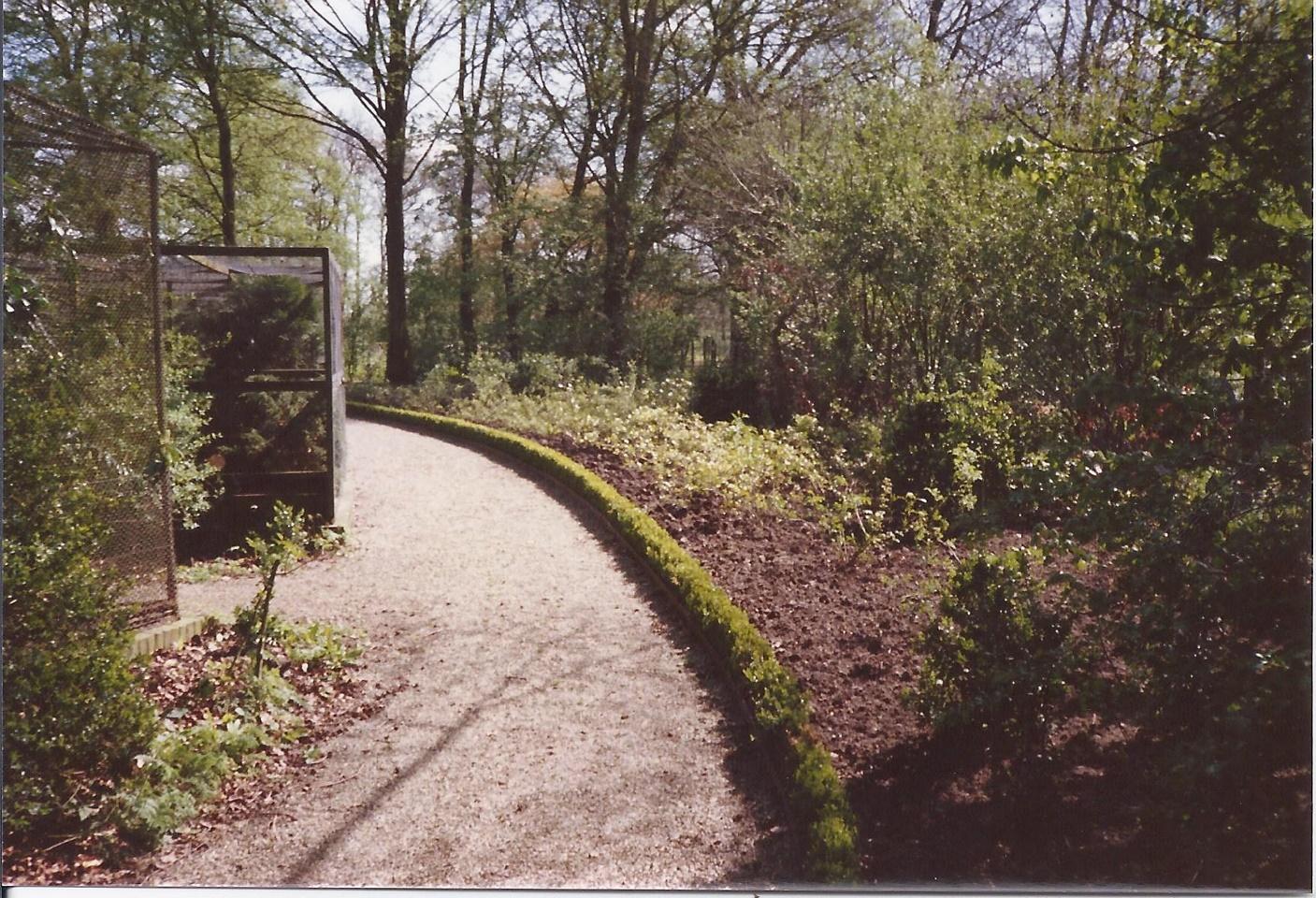 Stichting Nyenrode Fonds - Menagerie - Fazanterie, historische foto 1988 (1)