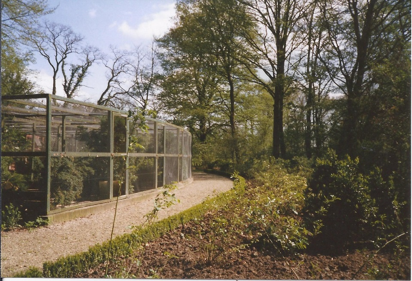 Stichting Nyenrode Fonds - Menagerie - Fazanterie, historische foto 1988 (2)