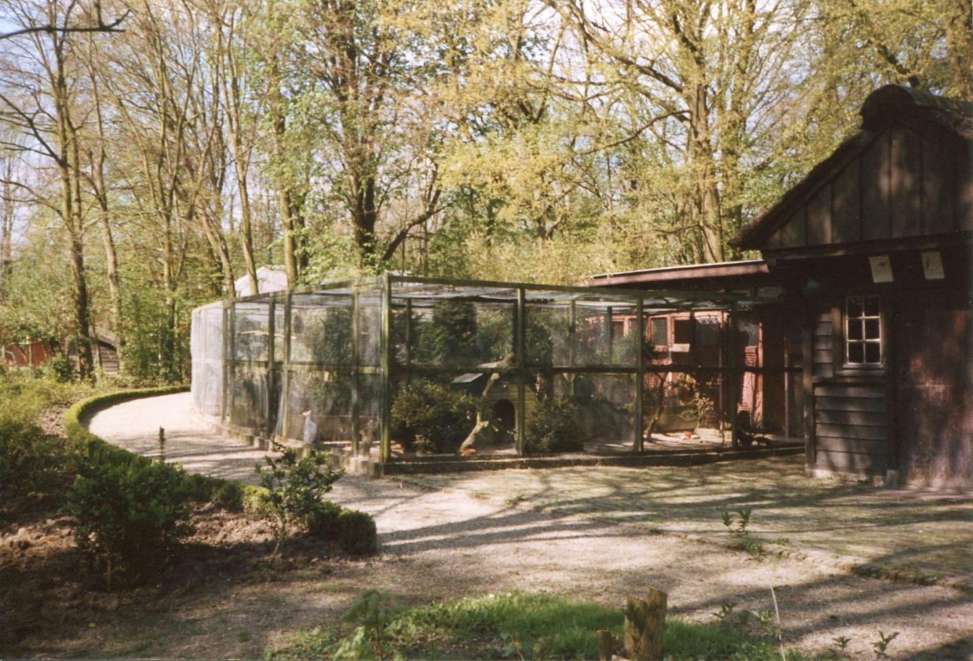 Stichting Nyenrode Fonds - Menagerie - Fazanterie, historische foto 1988 (3)