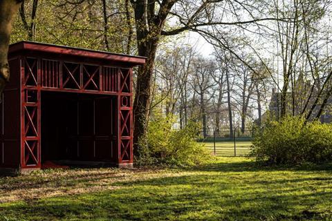 Stichting Nyenrode Fonds - Menagerie, speelprieel - na restauratie